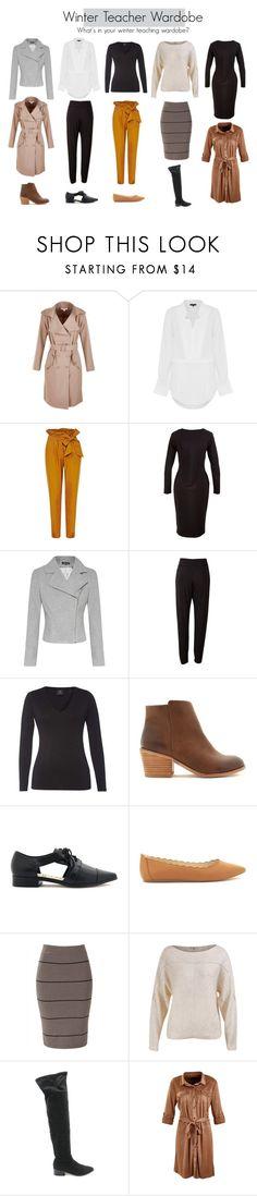 Winter Teacher Wardrobe by whattheteacherwears on Polyvore