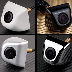 Consumer Electronics Strict Hd Night Vision 360 Degree Car Front View Side View Camera 170° Viewing Angle Elegant Shape