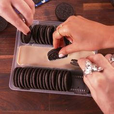 You'd never guess the genius way we used a package of Oreos.