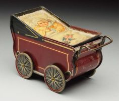 Lot # : 293 - Rare Biscuit Tin Carriage.