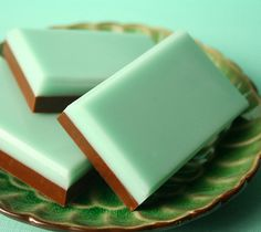mint chocolate. I wonder if they taste like andes mints,