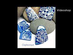 Metal Clay Jewelry, Diy Jewelry, Jewelry Making, Polymer Clay Pendant, Polymer Clay Jewelry, Precious Metal Clay, Flower Stamp, Clay Tutorials, White Ceramics