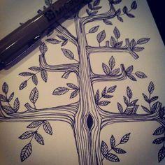 Tree, Caroline Johansson #illustration #art