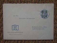VEB Grossmontagen Berlin C2  1958