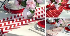 Valentine Table Runners