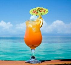 Goombay Smash: Add a little Bahama to your day. 3/4 oz Bacardi Spice Rum. 1/2 oz Bacardi Light Rum. 1/4 oz Apricot Brandi. 1/2 oz Coconut Cream. 2 oz Pineapple Juice. Blend all ingredients together. Pour over ice. Garnish with an orange slice.