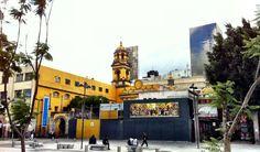 """Museo Arte/Alameda en conjunto con su iglesia, el un lugar dedicado a la restauración y la cura de arte, aparte esta juntó al museo donde se encuentra el mural de Diego Rivera """"Un Domingo en la Alameda"""""""