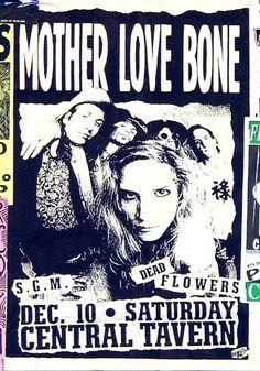 Central Tavern Seattle - Mother Love Bone - Dead Flowers playing at the Central Tavern Seattle.