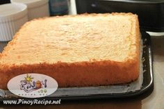 The Sponge Cake Recipe is a moderately-sweet delight that would deflate in your mouth with a distinct taste. It brings forth the savory egg flavor combined with the fluffy and light structure.