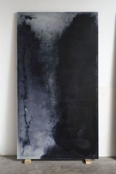 Alessandro Piangiamore, Le cere di Roma 2014 Abstract painting, abstract art, black painting