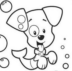 download puppy bubble guppies coloring pages or print puppy bubble - Bubble Guppies Coloring Pages