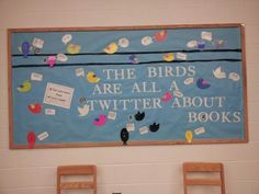 High School Classroom Bulletin Boards   High school bulletin board. Quotes from classic and contemporary books ...