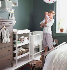 meubles bb hensvik dans le coin de la chambre - Chambre Bebe Ikea