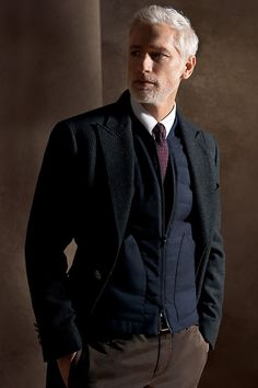 """Return to the """"Well-Dressed Man"""" - Collection Fall Winter Gentleman Mode, Gentleman Style, Sharp Dressed Man, Well Dressed Men, Men Closet, Lakme Fashion Week, Suit And Tie, Men Looks, Stylish Men"""