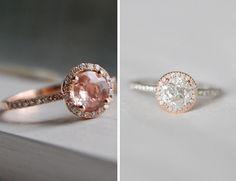 Diamond Engagement Ring Sapphire White And Rose Gold 37 Rose Gold Engagement Ring, Vintage Engagement Rings, Pretty Rings, Pink Sapphire, Fashion Rings, Wedding 2015, Wedding Wishes, Wedding Ideas, Jewelry
