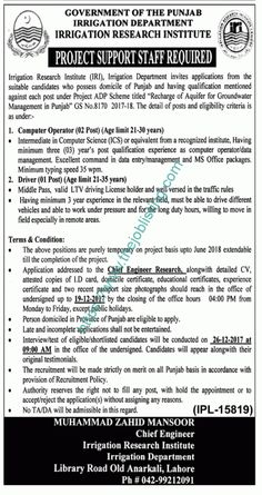 Allama Iqbal Medical College Jinnah Hospital Jobs In Lahore  The
