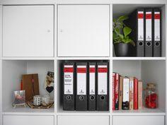 Kreative einrichtungsideen büro  Ikea Kallax Büro Einrichtung Idee | Ikea Gutschein | Pinterest ...