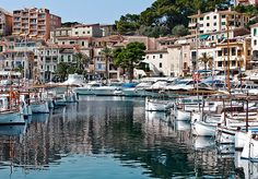Soller. Mallorca.  Win lottery, go back here, buy mansion on the sea, live.