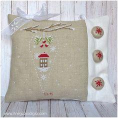 puntocroce e fantasia: decorazioni natalizie
