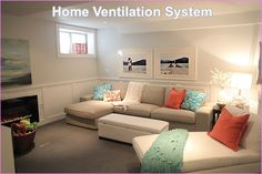 Home ventilation system is essential for maintaining air quality and removing moisture from your home. It use fans to move air into your house, offering an alternative to opening doors and windows.