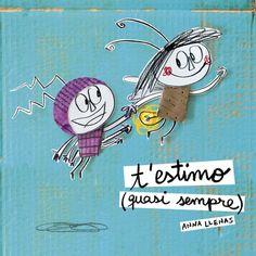 T'estimo (quasi sempre) (LA LLUNA DE PAPER): Amazon.es: Anna Llenas: Libros