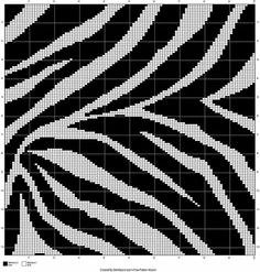 Zebra afghan