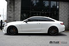 Mercedes E-Class Coupe with Savini Wheels exclusively from Butler Tires and Wheels in Atlanta, GA - Image Number 11092 Mercedes E Class Coupe, Mercedes Benz, 20 Wheels, Butler, Luxury Cars, Dream Cars, Atlanta, Automobile, Vehicles