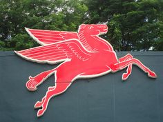 Mobilgas Pegasus by sepolice, via Flickr