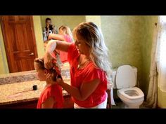Hair Tutorial: Twisty Ponytails - YouTube