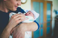 Love at first sight ~ Birth Photography by J L Scott Photography