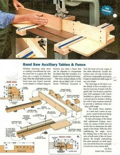#315 Band Saw Fence Plans - Band Saw Tips, Jigs and Fixtures