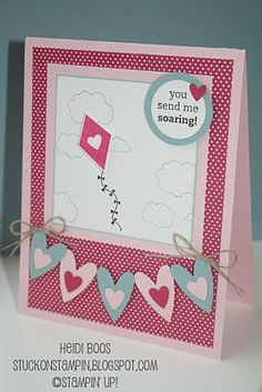Cute! Love the square layers! Might try a scallop layer and maybe kites along the bottom instead of the hearts...