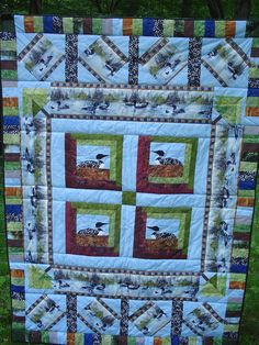 loon quilt - Google Search | Quilt | Pinterest | Barn quilts ... : loon quilt pattern - Adamdwight.com