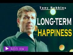 Tony Robbins At The Beach | Why you are not happy | Long Term Happiness ...