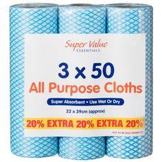 314167-3x50-All-Purpose-Cloths-22x39cm