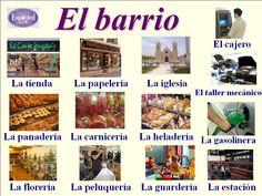 Vocabulario de la ciudad.