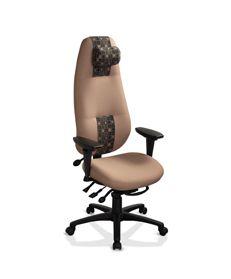 ergoCentric geoCentric Series Extra High Back Multi Tilt Chair