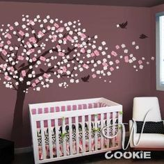 Love this nursery wall decal