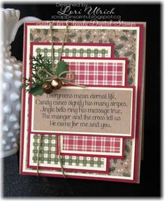 ~ Jingle Bells ~ by saintsrule - Cards and Paper Crafts at Splitcoaststampers