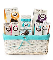Chocolate Gift Baskets and Hampers Delivered from Lily O'Brien's Chocolates, a delicious assortment of our finest chocolates. Free Delivery throughout Ireland & the UK