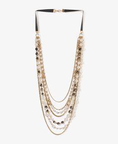 Draped Festive Necklace | FOREVER21 - 1030186556
