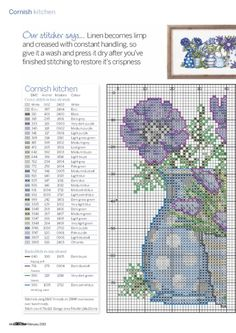 Gallery.ru / Фото #43 - Cross Stitch Collection 245 февраль 2015 - tymannost