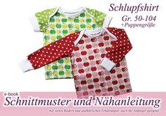 Nähanleitung / Schnitt Babyshirt  von selbermacher auf DaWanda.com