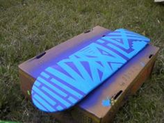 ▶ How to Paint Your Skateboard, Longboard, Etc. 2 - YouTube