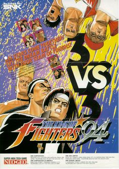 King of Fighters 94, found on King of Fighters - The Orochi Saga on PS2 and Wii