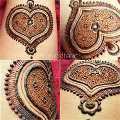 Eid Henna. A patch of love for this Eid.  Eid Mubarak to my henna family.  Spread the love.  devakySdharan