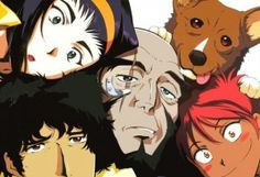 Cowboy Bebop  Action/Comedy about futuristic bounty hunters