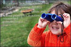 Nature Study with preschoolers