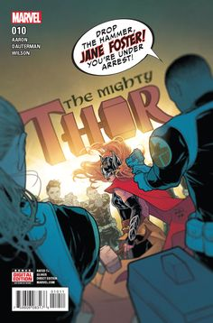 Marvel Comics, The Mighty Thor, Marvel Women, Comic Covers, The Fosters, Nerd, Heroines, Thunder, Monsters