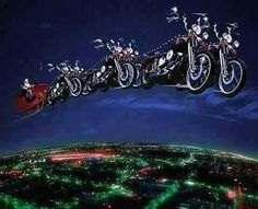 It's a Harley Davidson Christmas!